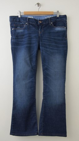 Gap 1969 Sexy Boot Real Waist Maternity Jeans Women's 28/6