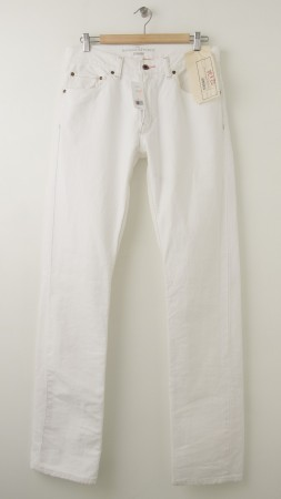 NEW Banana Republic Straight Fit Men's Jeans in White