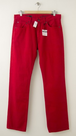 NEW Gap 1969 Slim Fit Jeans in Apple Red