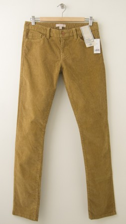 NEW Banana Republic Skinny Cord in Fall Acorn