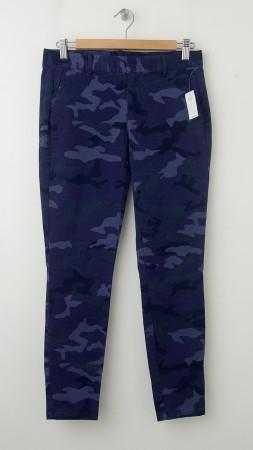 NEW Gap Skinny Mini Skimmer Khaki Pants in Blue Camo