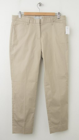 NEW Gap Slim Cropped Pants in Motocross Khaki