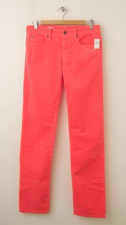 NEW Gap 1969 Real Straight Cords Corduroy Pants in Pink Reef