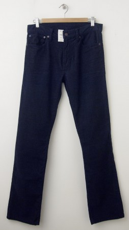 NEW Gap 1969 Straight Fit Five-Pocket Cords in Navy