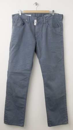 NEW Gap 1969 Slim Twill Pants in Blue