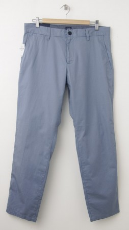 NEW Gap Slim Fit Tailored Pants in New Capri Blue