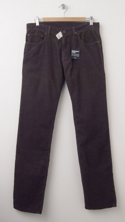 NEW Gap 1969 Cord Straight Fit Corduroy Pants in Chocolate