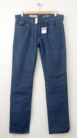 NEW Gap 1969 Slim Fit Jeans in Scraped Blue Wash