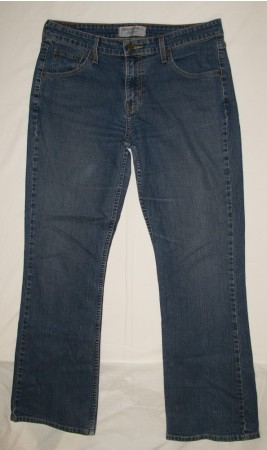 Levi Strauss Low Rise Boot Cut Jeans Women's 12 Medium