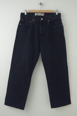 Levi Strauss 505 Regular Fit Jeans Men's W32 L30 (HEMMED)