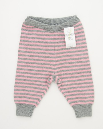 babyGap Striped Pink Sweater Pants in Impatient