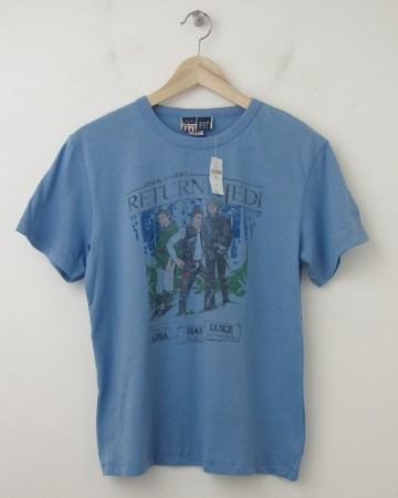 NEW GapKids Junk Food Star Wars Return of the Jedi Tee T-Shirt in Blue