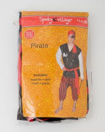 Spooky Village Halloween Pirate Costume Adult