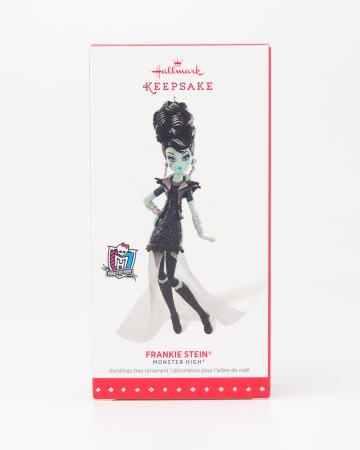 Hallmark Keepsake Monster High Frankie Stein Christmas Tree Ornament 2015
