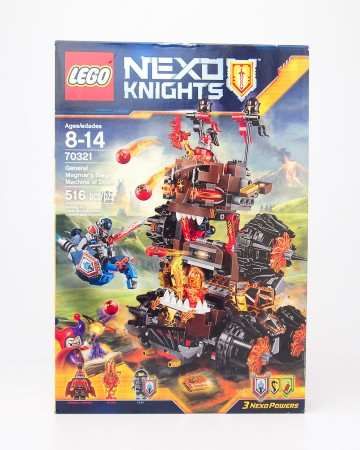 LEGO Nexo Knights General Magmar's Siege Machine of Doom #70321