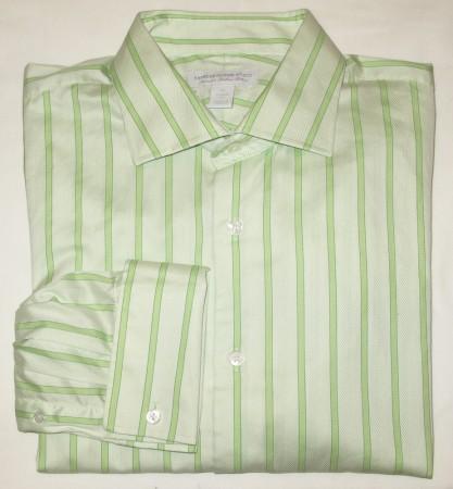 Express Design Studio Classic Fit Dress Shirt w/French Cuffs Men's XL