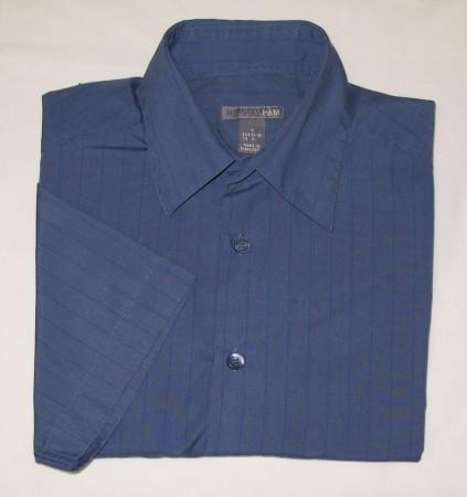 H&M Striped Short Sleeve Shirt Men's S - Small - 15