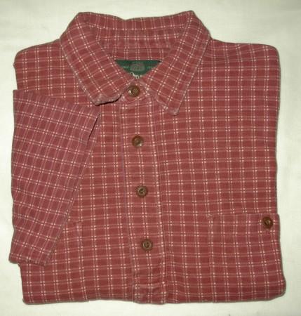 Orvis Check Polo Shirt Men's Medium