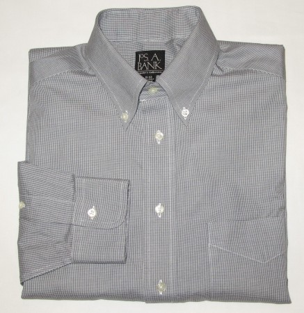 Jos A Bank Traveler's Collection Shirt Men's 15-33