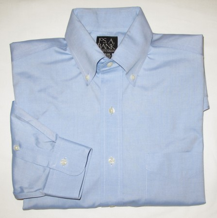 Jos A Bank Traveler's Collection Shirt Men's 15-34