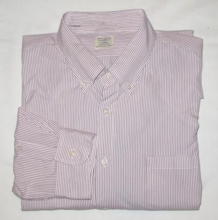 J. Crew Antique Shirting Dress Shirt Men's XL (17-17.5)