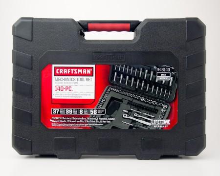 Craftsman Mechanics Tool Set 140-PC Inch/Metric 9-48140