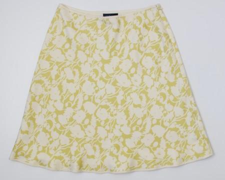 Ann Taylor Petites Silk Skirt Women's 4P - 4 Petite