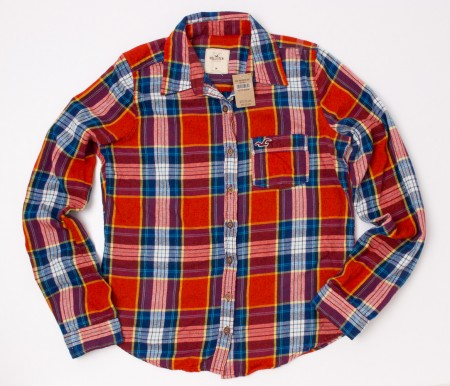 Hollister Women's Plaid Flannel Shirt