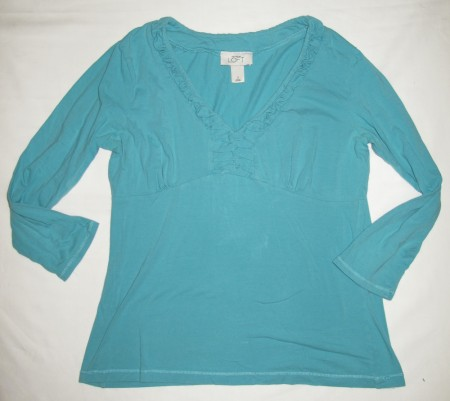 Ann Taylor Loft Knit Shirt Women's S - Small