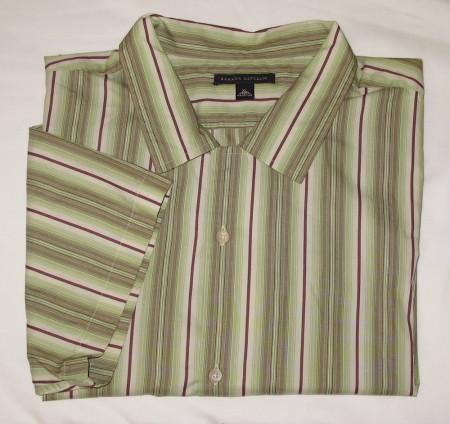 Banana Republic Short Sleeve Camp Shirt Men's XL - Extra Large