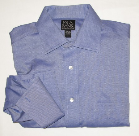 Jos A Bank Traveler's Collection Shirt Men's 15.5-33