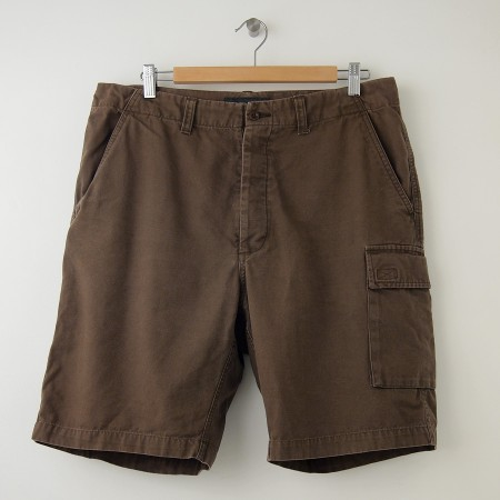 Men's Banana Republic Shorts Banana Republic is a contemporary US fashion brand, which was founded in in California. The label offers men, women and children a fresh twist on timeless closet staples but it initially started as a safari outfitter in San Francisco.