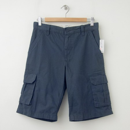 NEW Old Navy Authentic Cargo Shorts in Dusty Blue