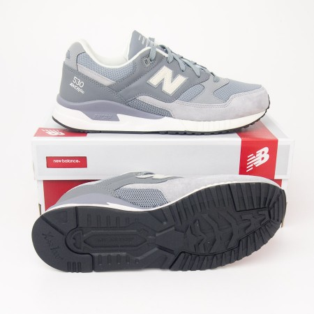 New Balance Men's 530 Oxidation Pack Running Shoes M530OXC in Steel/Gunmetal Grey
