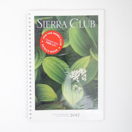 Sierra Club Engagement Calendar 2017