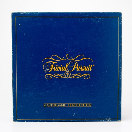 Horn Abbot - Selchow & Righter Trivial Pursuit Master Game - Genus Edition