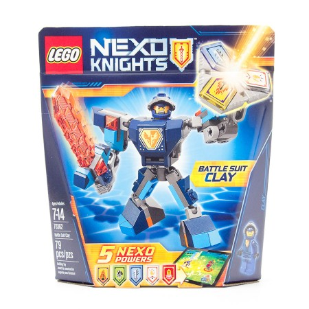 LEGO Nexo Knights Battle Suit Clay #70362