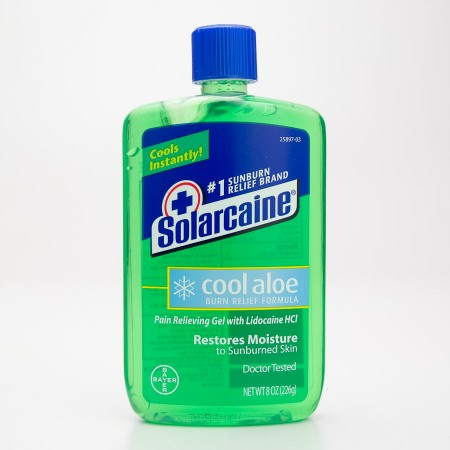 Solarcaine Cool Aloe Burn Relief Formula 8 oz