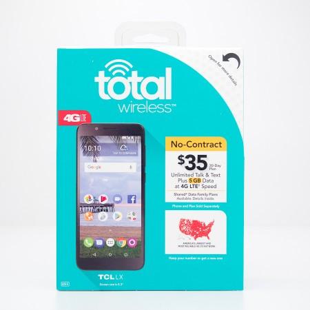 Total Wireless Alcatel TCL LX Prepaid Smartphone