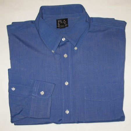 Jos A Bank Dress Shirt Men's 17-37T Tall