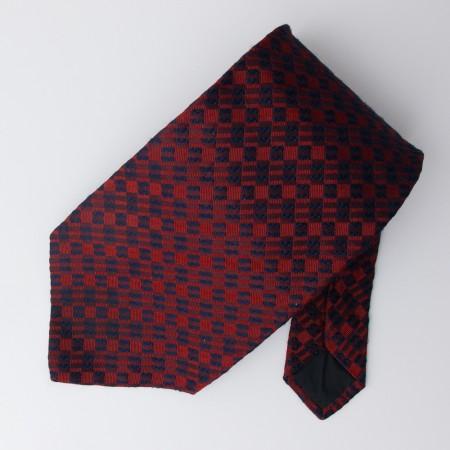 Ike Behar Woven Silk Geometric Tie