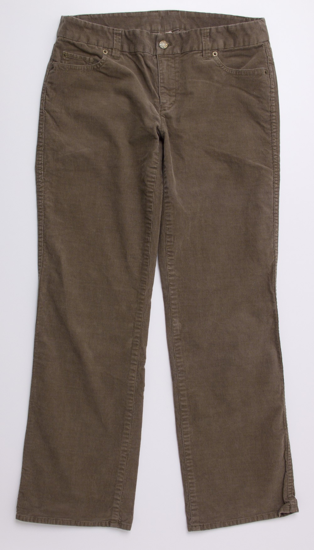 Cool Seven For All Mankind Bootcut Corduroy Pants Women39s 32 Hemmed