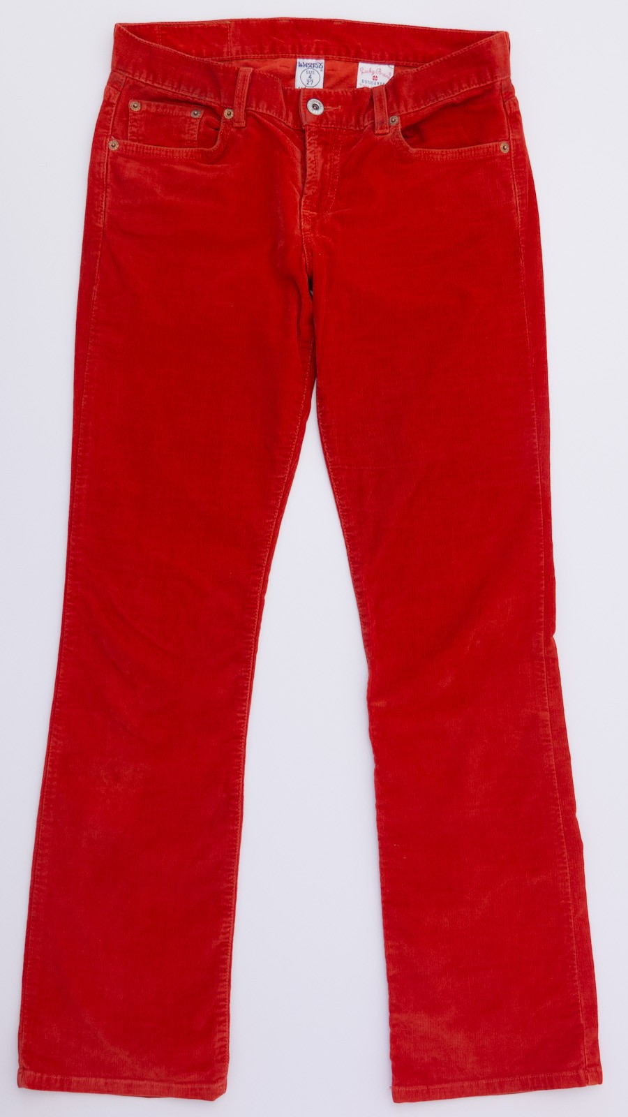 Red Corduroy Pants Women - Fat Pants