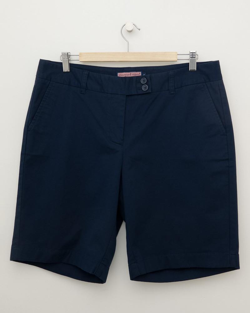 Vineyard Vines Navy Chino Shorts Women S 12