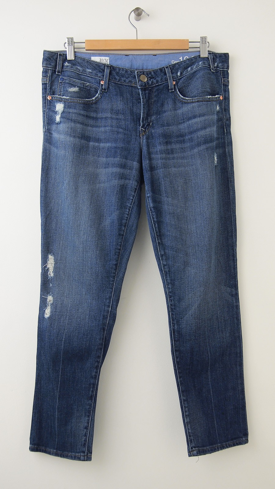 Original Gap Pullon Linen Pants In Blue True Indigo  Lyst
