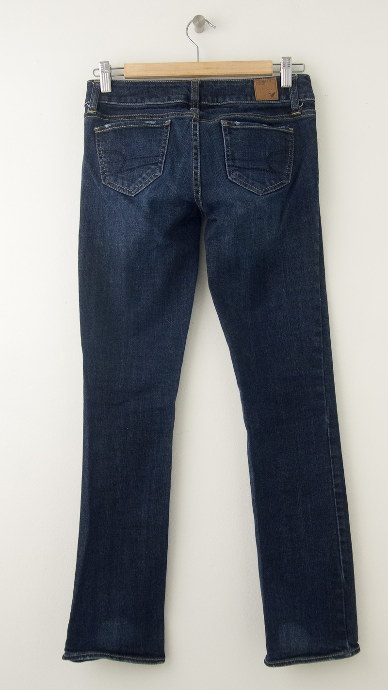 American Eagle Outfitters Straight Jeans Women's 0 - Short