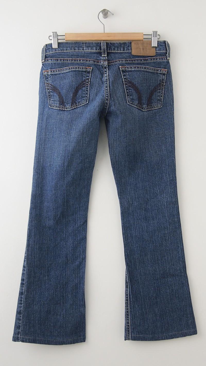 Hollister Flare Jeans Women's 5R - Regular (hemmed)