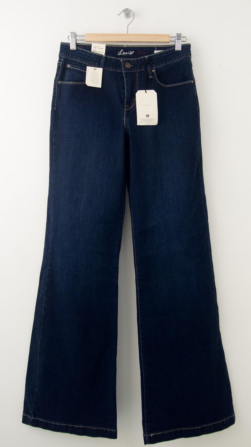 NEW Levi's High Rise Demi Curve Wide Leg Jeans