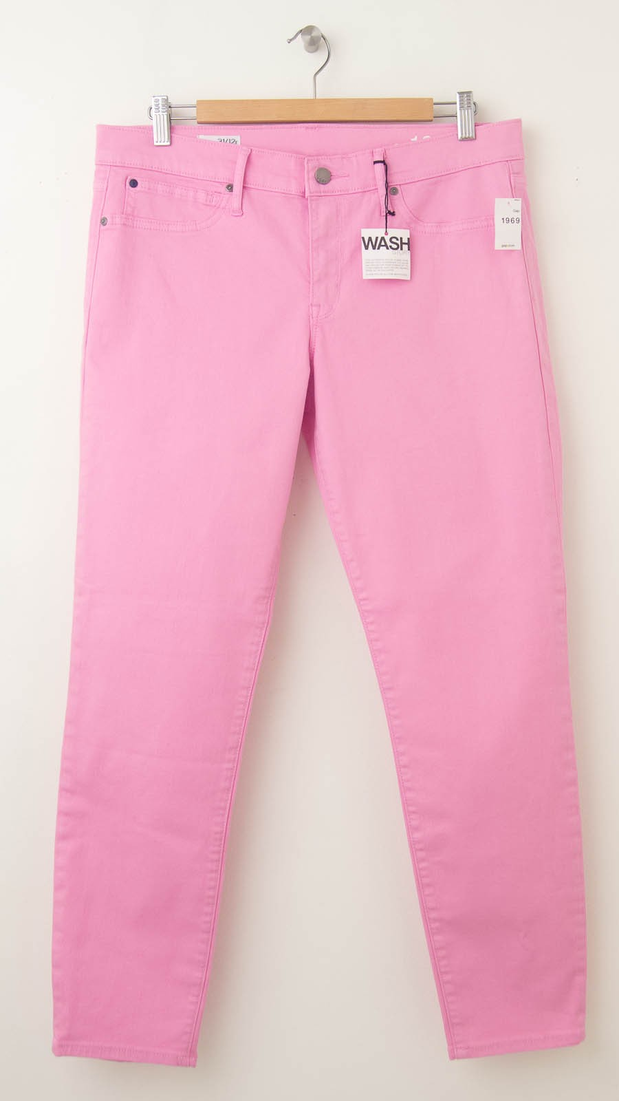 55778aab5d217 NEW Gap 1969 Legging Skimmer Jeans in Sugar Pink