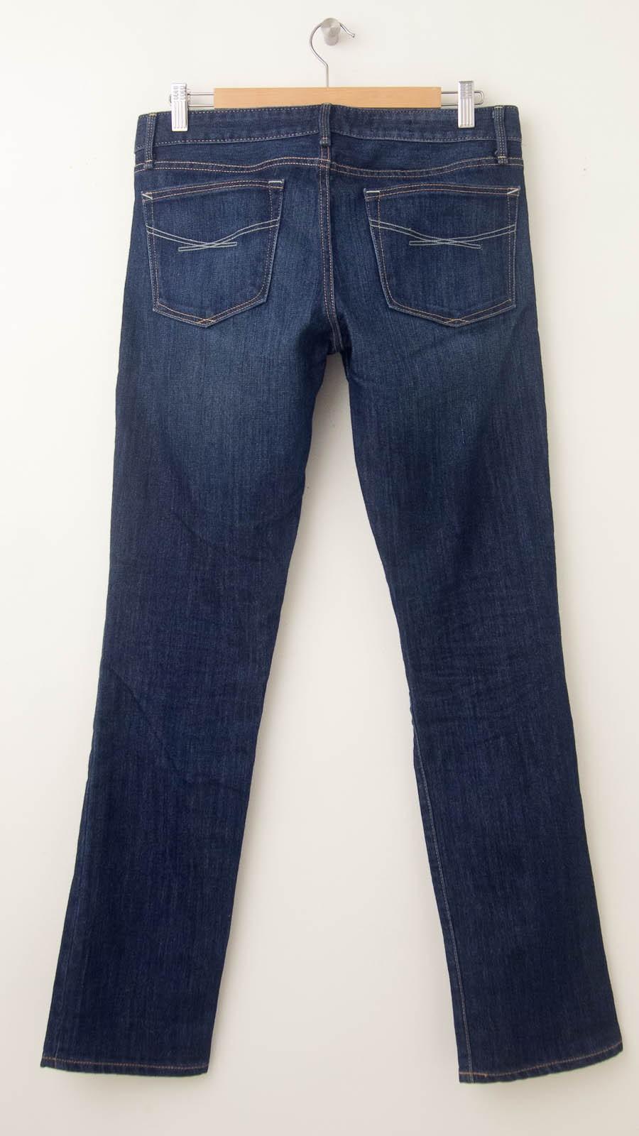 Gap 1969 Real Straight Jeans Women S 28 6r Regular